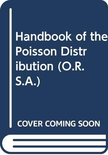9780471339328: Handbook of the Poisson Distribution (ORSAS)