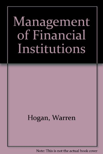 9780471340454: Management of Financial Institutions