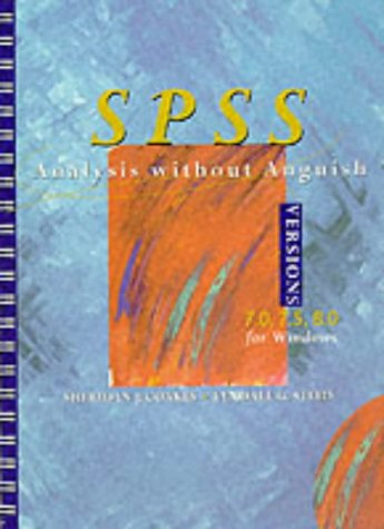 9780471340805: SPSS: Analysis without Anguish Versions 7.0, 7.5, 8.0