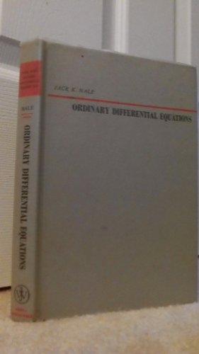 9780471340904: Ordinary Differential Equations (Pure & Applied Mathematics)