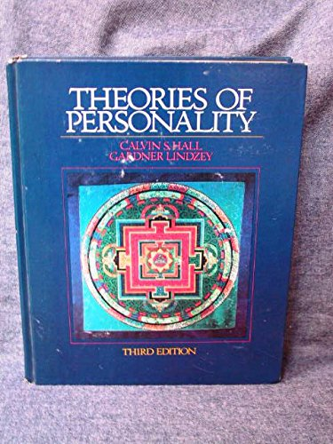 9780471342274: Theories of Personality