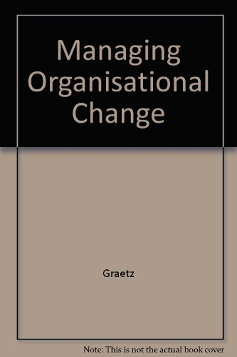 9780471342359: Managing Organisational Change