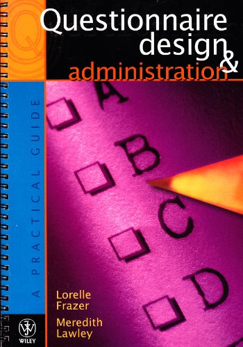 9780471342922: Questionnaire Design and Administration: A Practical Guide