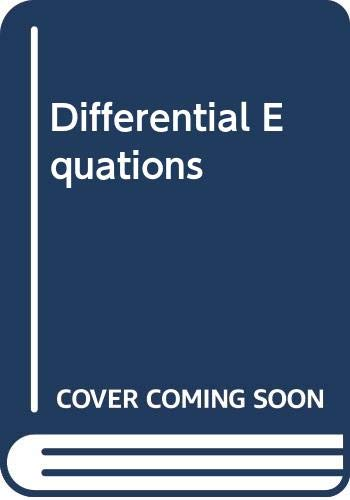 9780471344148: Differential Equations