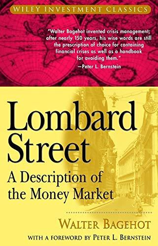 9780471344995: Lombard Street: A Description of the Money Market
