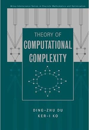 9780471345060: Theory of Computational Complexity