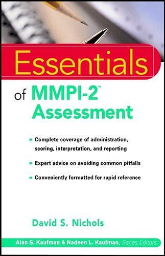 9780471345336: Essentials of MMPI-2 Assessment (Essentials of Psychological Assessment Series)