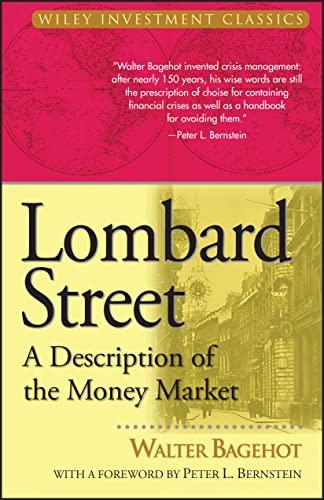9780471345367: Lombard Street: A Description of the Money Market