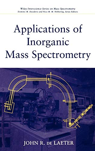 Applications of Inorganic Mass Spectrometry (Hardback): John R.de Laeter