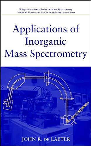 9780471345398: Applications of Inorganic Mass Spectrometry