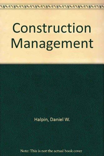 9780471345664: Construction Management