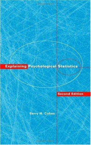 9780471345824: Explaining Psychological Statistics