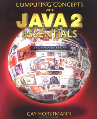 9780471346098: Computing Concepts with Java 2 Essentials