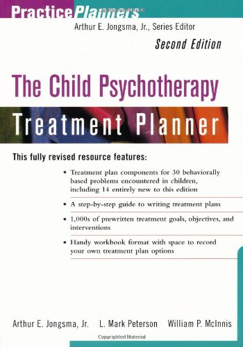 9780471347644: The Child Psychotherapy Treatment Planner, 2nd Edition