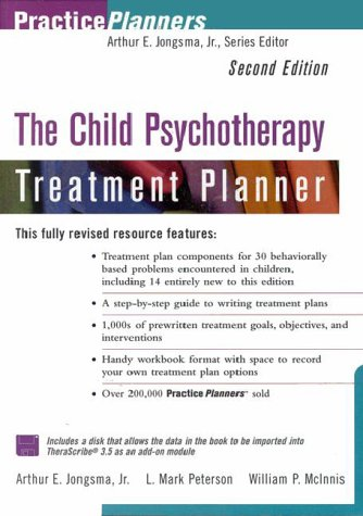 9780471347651: The Child Psychotherapy Treatment Planner (Book with Diskette)
