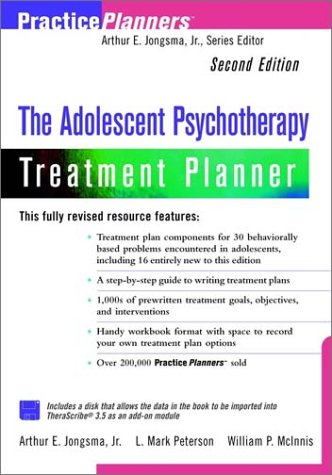 9780471347675: The Adolescent Psychotherapy Treatment Planner, 2nd Edition
