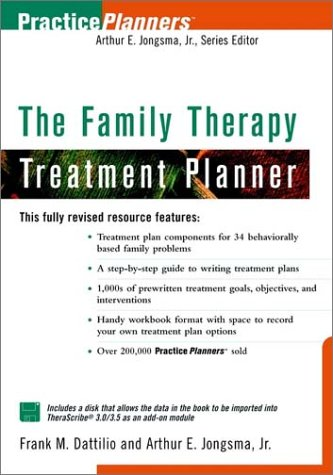 9780471347699: The Family Psychotherapy Treatment Planner