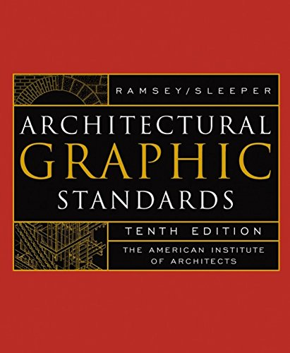 9780471348160: Architectural Graphic Standards, Tenth Edition