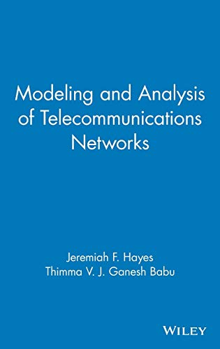 9780471348450: Modeling and Analysis of Telecommunications Networks
