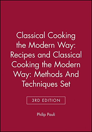 9780471348535: Classical Cooking the Modern Way: Recipes