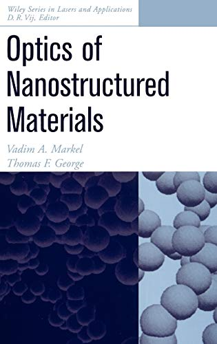 9780471349686: Optics of Nanostructured Materials (Wiley Series in Lasers and Applications)