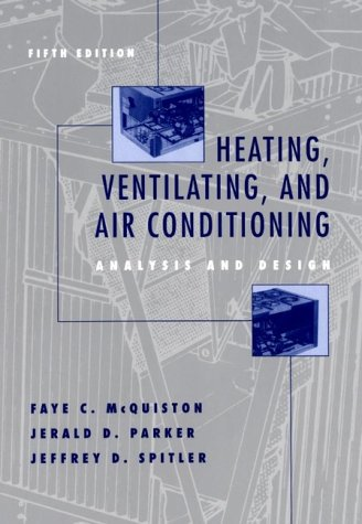 9780471350989: Heating, Ventilating, and Air Conditioning: Analysis and Design