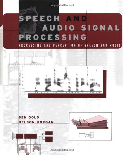 9780471351542: Speech and Audio Signal Processing: Processing and Perception of Speech and Music