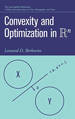 9780471352815: Convexity and Optimization in Rn