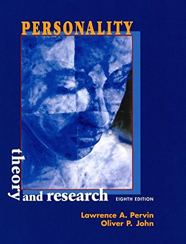 9780471353393: Personality: Theory and Research