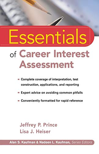 9780471353652: Essentials of Career Interest Assessment