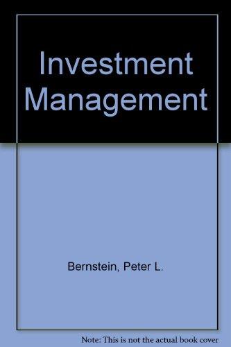 9780471354284: Investment Management