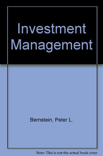 9780471354284: Investment Management Set (Paper Only)