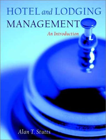 9780471354833: Hotel and Lodging Management: An Introduction