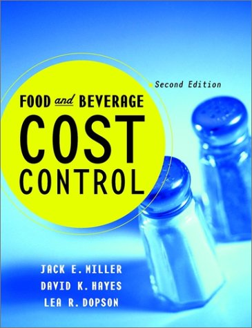 9780471355151: Food and Beverage Cost Control