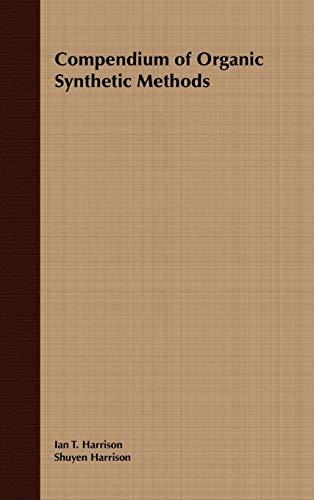 9780471355502: Volume 1, Compendium of Organic Synthetic Methods