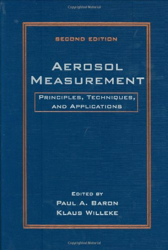 9780471356363: Aerosol Measurement: Principles, Techniques, and Applications (A Wiley-Interscience publication)