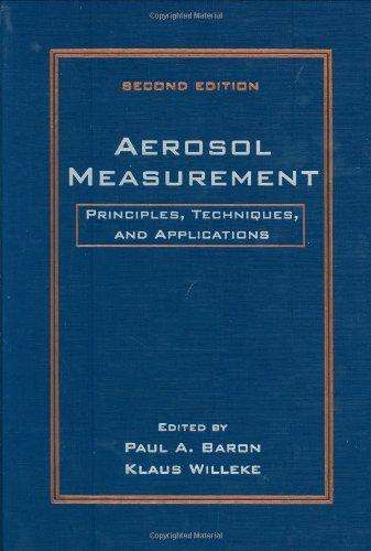 9780471356363: Aerosol Measurement: Principles, Techniques, and Applications, 2nd Edition