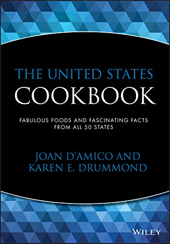 9780471358398: The United States Cookbook: Fabulous Foods and Fascinating Facts From All 50 States
