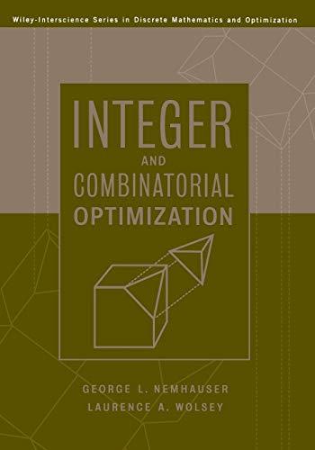 9780471359432: Integer and Combinatorial Optimization