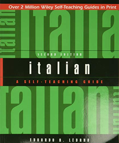 9780471359616: Italian: A Self-Teaching Guide, 2nd Edition