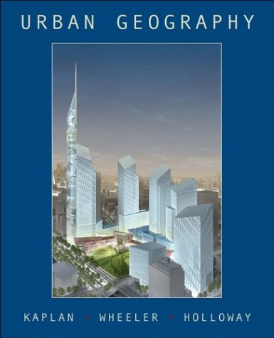 9780471359982: Urban Geography