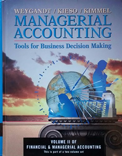 9780471360261: Managerial Accounting - Tools for Business Decision Making Slipcase