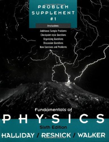 9780471360315: Fundamentals of Physics, , Problem Supplement No. 1