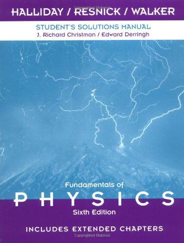 9780471360346 Fundamentals Of Physics Solutions Manual