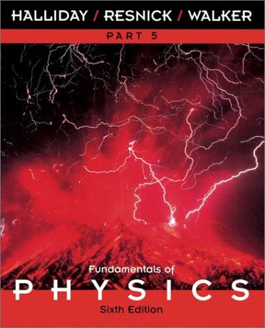 9780471360384: Fundamentals of Physics Part 5