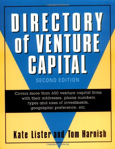Directory of Venture Capital: Kate Lister; Tom