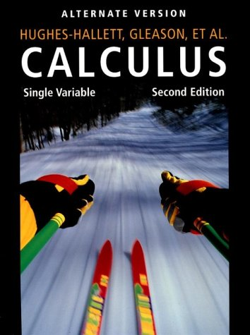 9780471361138: Calculus : Single Variable, 2nd Edition, Alternate Version