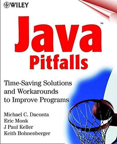 9780471361749: Java Pitfalls: Time-Saving Solutions and Workarounds to Improve Programs