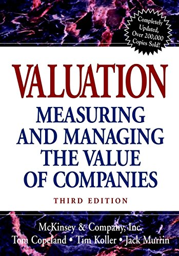 9780471361909: Valuation: Measuring and Managing the Value of Companies (Frontiers in Finance Series)