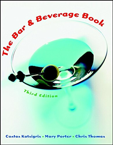9780471362463: The Bar and Beverage Book